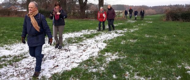 Wandeling Aachener Winterlauf