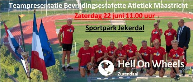 Teampresentatie Bevrijdingsestafette Atletiek Maastricht