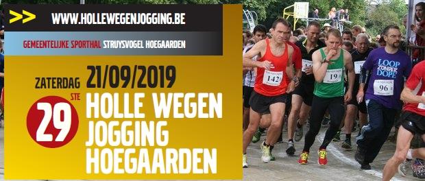 Inschrijven Holle wegen Hoegaarden jogging vóór 6-9
