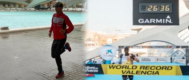 Nieuw PR Ricardo Floris 10 km Valencia!