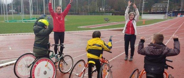 Racerunners (t/m 18 jaar) mogen weer in teamverband sporten