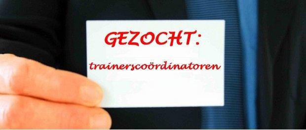 We zijn op zoek naar nieuwe trainerscoördinatoren