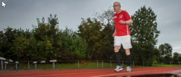Harry Sprenger (85) jaagt op atletiekrecords