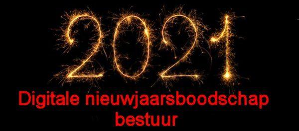 Digitale nieuwjaarsboodschap bestuur